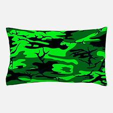 Alien Green Camo Pillow Case