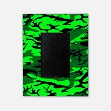 Alien Green Camo Picture Frame