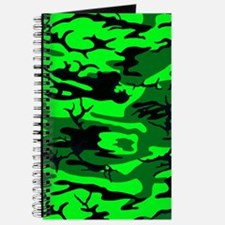 Alien Green Camo Journal