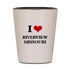 I love Riverview Missouri Shot Glass