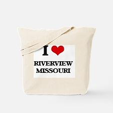 I love Riverview Missouri Tote Bag