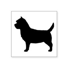 "Cairn Terrier Square Sticker 3"" x 3"""