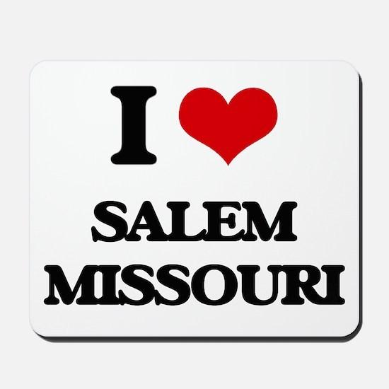 I love Salem Missouri Mousepad