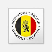 Belgium (rd) Sticker