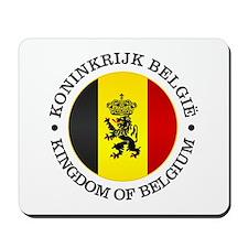Belgium (rd) Mousepad