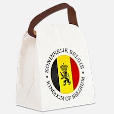 Belgium (rd) Canvas Lunch Bag