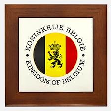 Belgium (rd) Framed Tile