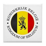 Belgium Drink Coasters