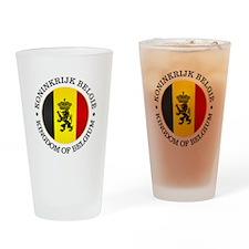Belgium (rd) Drinking Glass