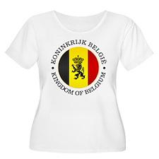 Belgium (rd) Plus Size T-Shirt