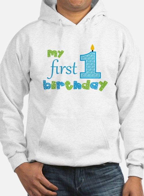 My First Birthday Jumper Hoody