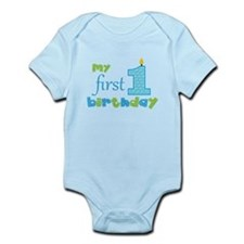 My First Birthday Body Suit