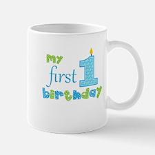 My First Birthday Mugs