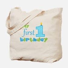 My First Birthday Tote Bag