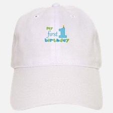 My First Birthday Baseball Baseball Cap