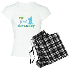 My First Birthday Pajamas