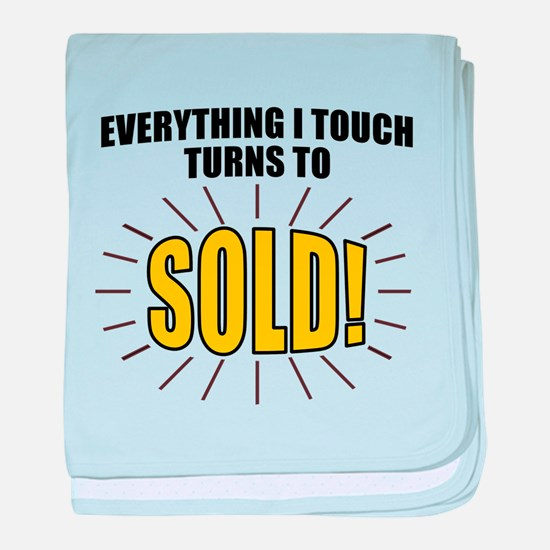 Everything I touch turns to SOLD! baby blanket