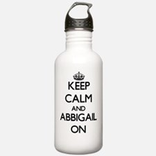 Keep Calm and Abbigail Water Bottle