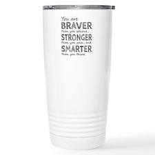 Braver Stronger Smarter Thermos Mug