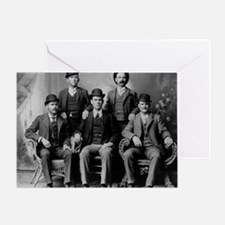 Butch Cassidy and the Wild Bunch Greeting Card