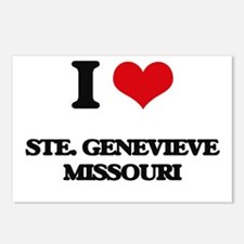 I love Ste. Genevieve Mis Postcards (Package of 8)