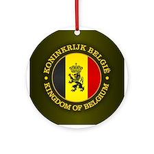 Belgium (rd) Ornament (Round)