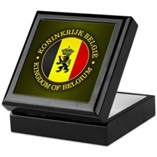 Belgium (rd) Keepsake Box