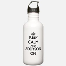 Keep Calm and Addyson Water Bottle