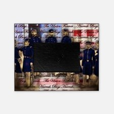 Vintage Civil War Ubion Soldiers Picture Frame