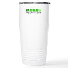 Im Adorable! Can I sell Travel Mug