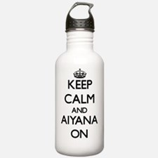 Keep Calm and Aiyana O Water Bottle
