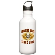 cheating death 1988 Water Bottle