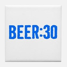 Beer:30 Tile Coaster