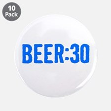 """Beer:30 3.5"""" Button (10 pack)"""
