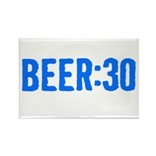 Beer:30 Rectangle Magnet