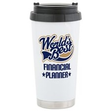 Cute Financial planner Travel Mug