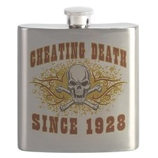 Cheating Death 1928 Flask