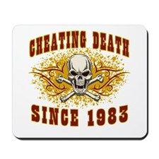 cheating death 1983 Mousepad