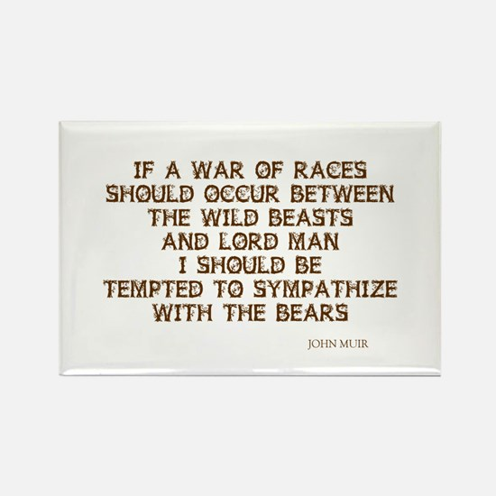 War of Races Rectangle Magnet