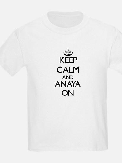Keep Calm and Anaya ON T-Shirt