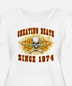 Cheating Death 1974 Plus Size T-Shirt