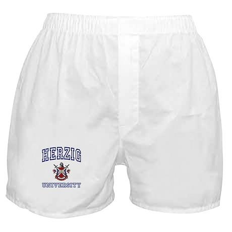HERZIG University Boxer Shorts