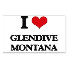 I love Glendive Montana Decal