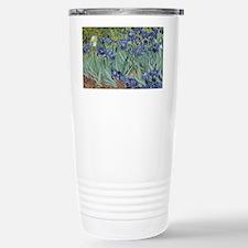 Van Gogh - Irises Stainless Steel Travel Mug