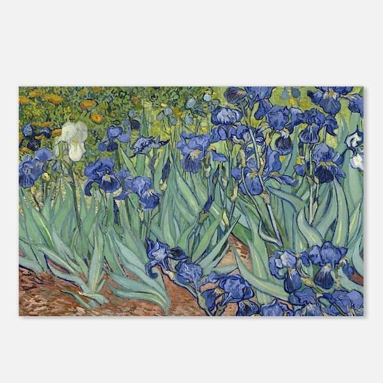 Van Gogh - Irises Postcards (Package of 8)