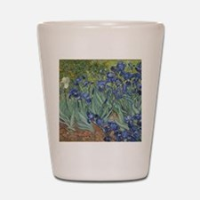 Van Gogh - Irises Shot Glass