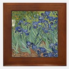 Van Gogh - Irises Framed Tile