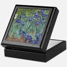 Van Gogh - Irises Keepsake Box