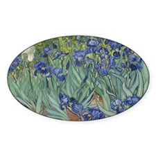 Van Gogh - Irises Decal