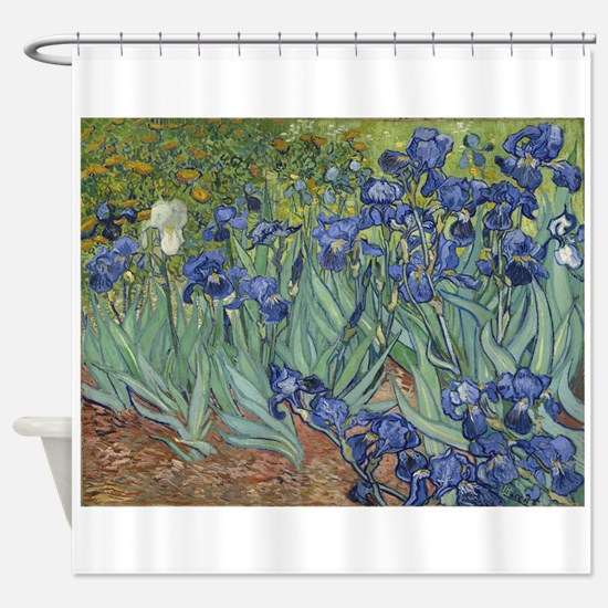 Van Gogh - Irises Shower Curtain